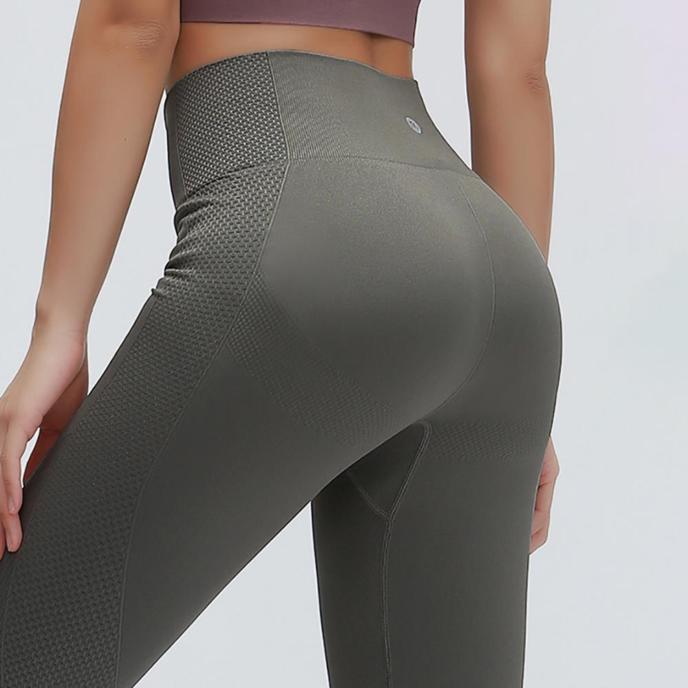 Yoga Legging Fitness-Pants Active-Wear Gym Tights Scrunch Butt Lulu Workout Nepoagym title=