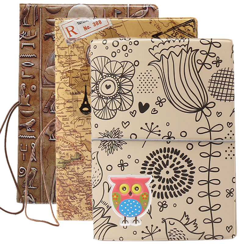 Cartoon Animal Owl Passport Cover Wallet Bag Travel Accessories Women Men PU Leather Address Holder Portable Boarding Card Case