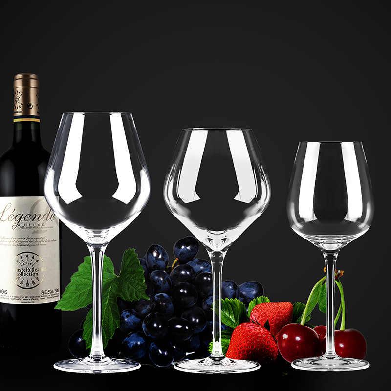400-600ML lampka do czerwonego wina duży brzuch kieliszek do wina ołów-kryształ bez ołowiu szkło wino burgundzkie szkło Home Bar czara wino musujące Cup