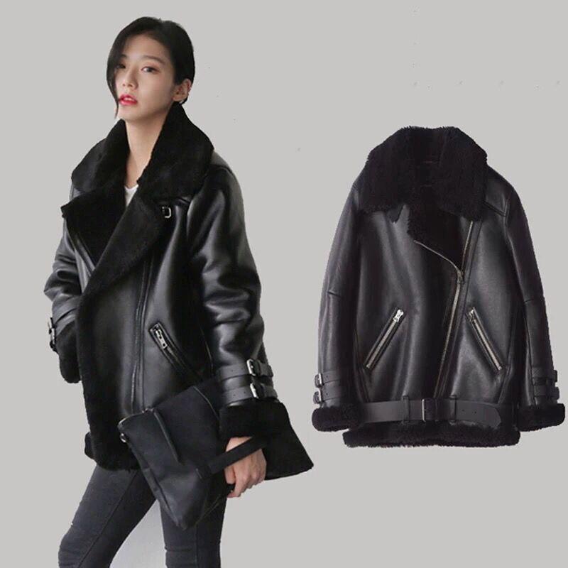 European Women Fur Coats Winter Vintage Russian Coats Warm Faux Fur Leather Jackets Lady Overcoat Woman Streetwear 2020 New A894