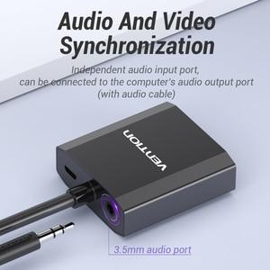Image 5 - VGA to HDMI Converter 1080P 남성 오디오 VGA HDMI 디지털 아날로그 어댑터 노트북 HDTV 프로젝터 HDMI VGA