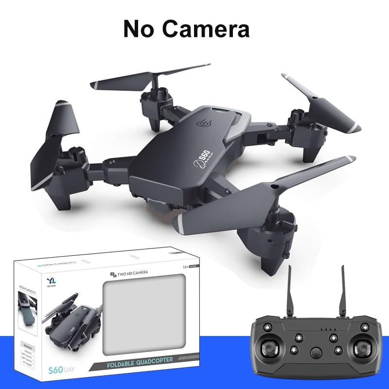 S60 RC Drone 4k HD Wide Angle Camera Quadcopter 1080P WiFi FPV Dual Camera Drone Long Flight Time Smart Follow RC Quadcopter