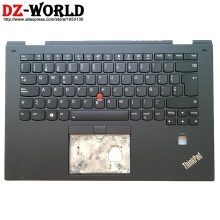 Palmrest Backlit Keyboard Thinkpad Lenovo with Spain for X1 Yoga 2nd-Gen C-cover/01hy832/01hy912/01hy952
