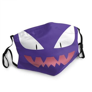 Mascarilla Reutilizable de Haunter Merchandising de Pokémon Mascarillas de Anime