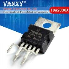 10 Pcs TDA2030 TO220 5 TDA2030A To 220 Lineare Audio Amplificatore Corto Circuito E Protezione Termica Ic