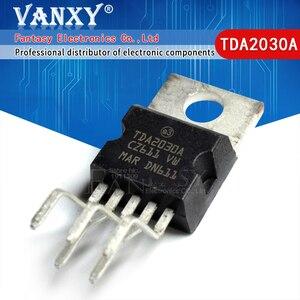 Image 1 - 10 Pcs TDA2030 TO220 5 TDA2030A To 220 Lineare Audio Amplificatore Corto Circuito E Protezione Termica Ic