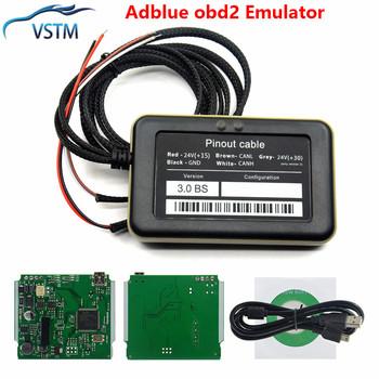 Nowy Adblue 8w1 usuń narzędzie Emulator Adblue 9 w 1 uniwersalny Emulator Adblue Truck Code czytnik darmowa wysyłka tanie i dobre opinie VSTM CN (pochodzenie) Adblue 9 in 1 8 in 1 Newest 7inch 4inch Plastic Analizator silnika 0 25kg