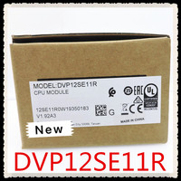 DVP12SE11R DC24V PLC 8DI 4DO relé Original Novo