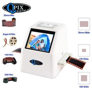 Digital-Film-Converter Negative-Slide-Scanner 22-Mega-Pixels 135 110 126KPK with Lcd-Support