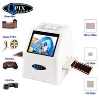 35mm Film Scanner 22 Mega Pixels Negative Slide Scanner 110 135 126KPK Digital Film Converter with 2.4LCD Support Russian