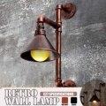 Винтажные Настенные светильники для водопроводных труб  индивидуальное украшение  Промышленный Склад  настенные светильники  освещение дл...