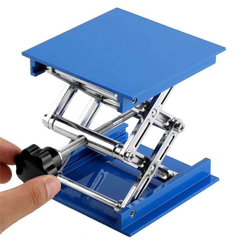10*10cm Chemistry Laboratory Lifting Platform University Lab Woodwork Stand Rack