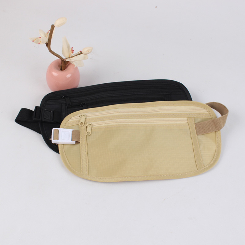 Outdoor Body Hugging Sports Running Bag Waterproof Hidden Outdoor Running Running Bag Multi-functional Ultra-Thin Travel Mobile