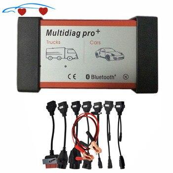 Kwaliteit Een Multidiag Pro + Met Bluetooth Voor Auto 'S Vrachtwagens OBD2 Scanner Tcs Cd-P Pro Diagnostic Tool + auto Kabels Snel Schip