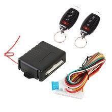 Kit de verrouillage de porte Central de voiture, système d'alarme d'entrée automatique sans clé pour véhicule 410/T202