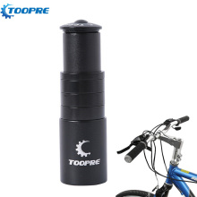 13cm Aluminum Alloy Bicycle Front Fork Stem Extender Mountain Road Bike Handlebar Extension Tube Riser Cycling Parts For 28.6mm