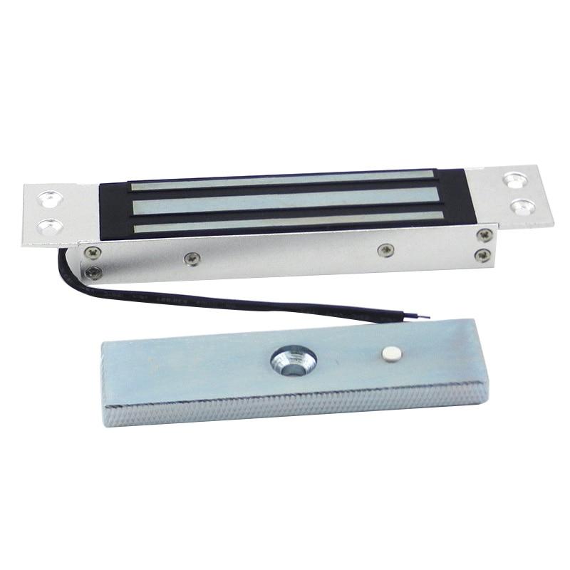 Single Door Flush Mount 180Kg Holding Force 12V Built-In Concealed Electric Magnetic Electromagnetic Lock For Door Gate Access