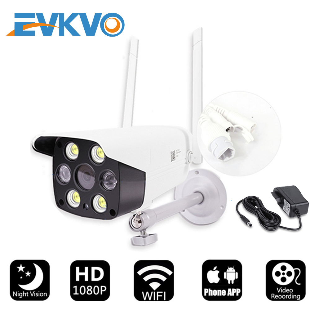EVKVO V380 Full HD 1080P Wifi Camera Wireless IP Camera Outdoor Weatherproof Security Night Vision CCTV Camera Home Baby Moniton