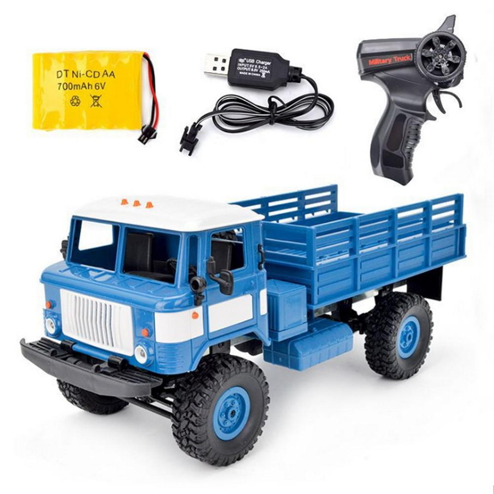 WPL B-24 1/16 RTR KIT 4WD RC Toy 2.4GHZ  Control RC Cars Toys Buggy High Speed Trucks Off-Road Trucks Toys For Children
