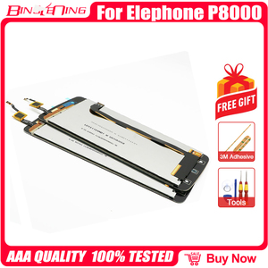 Image 5 - BingYeNing New Original For Elephone P8000 Touch Screen +  LCD Display+Frame Assembly Replacement