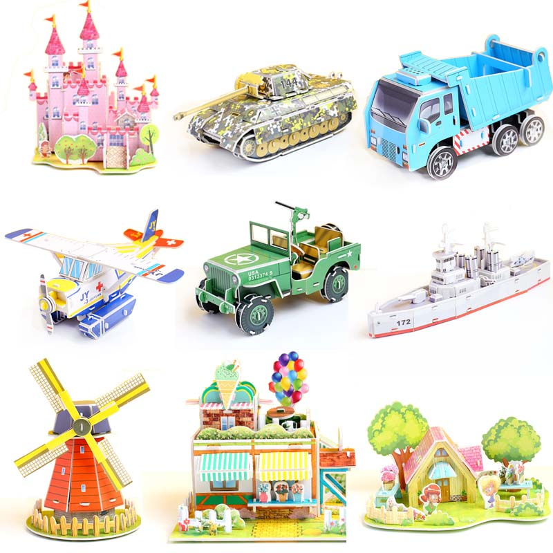 Baby Toys EVA Foam 3d Puzzle Cute Cartoon Animal Intelligence Kids Educational Brain Teaser Children Tangram Shapes Jigsaw Gifts