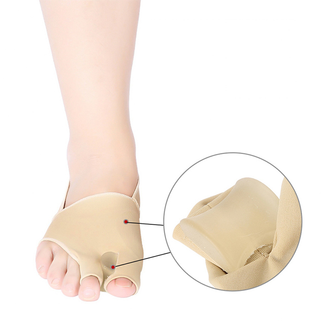 1pair 2020 New Hot Sale Best Selling Hallux Valgus Orthosis ThumbTent Separator Bunion Orthopedic Appliance Foot Care Tool 1