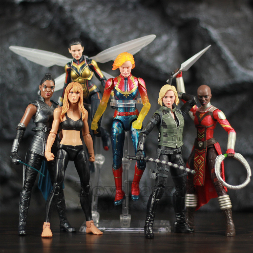 Original Marvel Legends Avengers Heroines 6