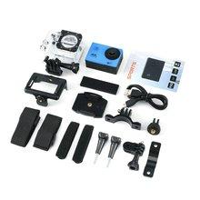 4K Экшн-камера 16MP Vision 3 Подводная Водонепроницаемая камера широкоугольная WiFi Спортивная камера с монтажными аксессуарами комплект