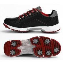 Mens Shoes Spikes Waterproof New Anti-Slip Professional Walking-Footwears Outdoor Quality