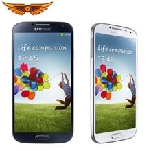 Original samsung i9500 galaxy s4 i9505 quad core 5.0 polegada 2gb ram 16gb rom 13mp câmera desbloqueado android nfc wifi telefone móvel