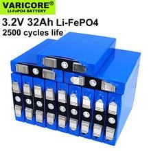VariCore – pack de batteries pour moteur de moto et voiture, nouveau, 3.2V 32ah, LiFePO4 phosphate 12V 4s 24V 32000mAh, Nickel modifié