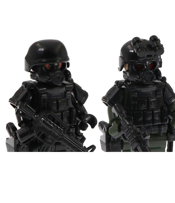 Конструктор детский «солдаты спецназа», 10 шт.
