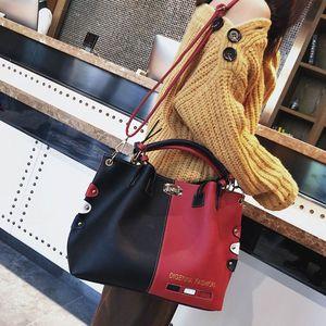 Image 4 - Mode Frauen Leder Schulter Tasche Tote Geldbörse Crossbody Messenger Handtasche Top Griff Taschen