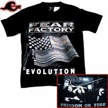 Camiseta fear factory-evolução-banda