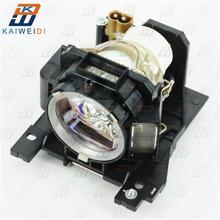 Yüksek kaliteli DT00893 için konut ile projektör lambası HITACHI CP A200/CP A52/ED A10/ED A101/ED A111/ED A6 /ED A7/HCP A7