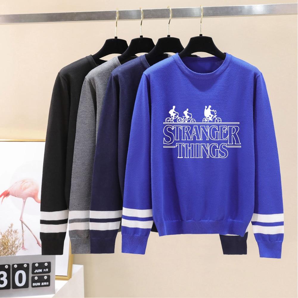 Stranger Things Sweater Men/Women Neweast Fall/Winter Casual Popular Sweater Warm Fashion Harajuku Round Collar Casual Sweater