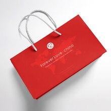 Hand Bag Printing Custom Hand Bag Logo Publicity Packaging Education Tote Bag