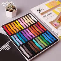 12/36 couleurs vives sec peinture Crayons ensemble doux Pan Pastel Crayons Art dessin craie couleur Crayon brosse papeterie pour étudiant