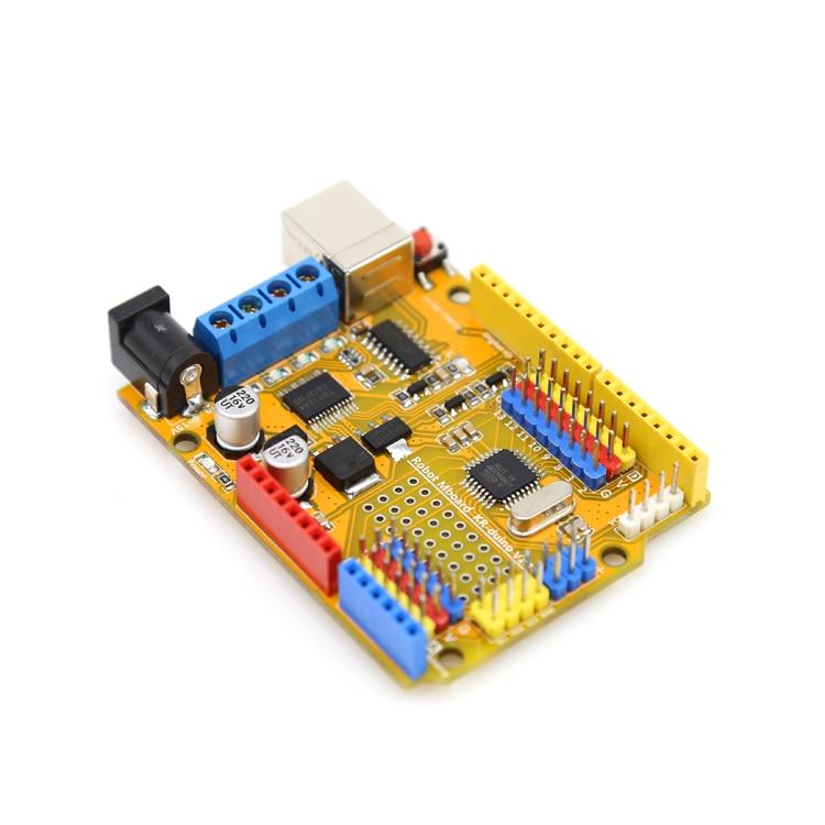 Arduino Uno Shield Pour 6 DOF Robot Arm Microcontrôleur ps2 avec code