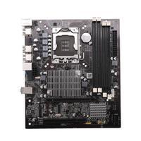 X58 Desktop Motherboard LGA 1366 4 Channels DDR3 32GB RAM Mainboard for Intel E5520/L5520 X5650 Core I7