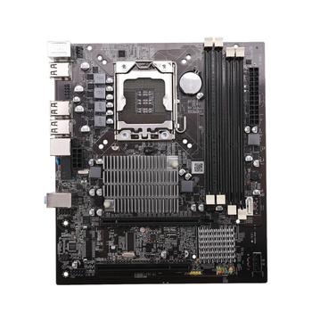 Placa base de escritorio X58 LGA 1366 4 canales DDR3 32GB RAM para Intel E5520/L5520 X5650 Core I7