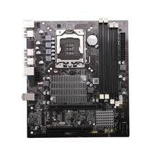 X58 placa-mãe de mesa lga 1366 4 canais ddr3 32 gb ram mainboard para intel e5520/l5520 x5650 core i7(China)