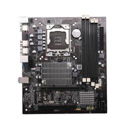 X58 Desktop Motherboard LGA 1366 4-Channels DDR3 32GB RAM Mainboard for Intel E5520/L5520 X5650 Core I7