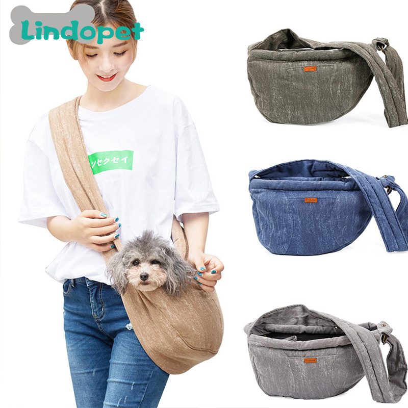 Pet Carrier Cat Puppy Small Animal Dog Carrier Sling Front Mesh Travel Tote Shoulder Bag Backpack Dog Accessories