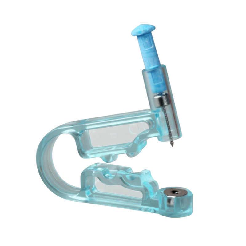 健康安全無菌使い捨て安全滅菌鼻耳ピアスキットスタッドピアスガン機キットスタッド選択デザイン
