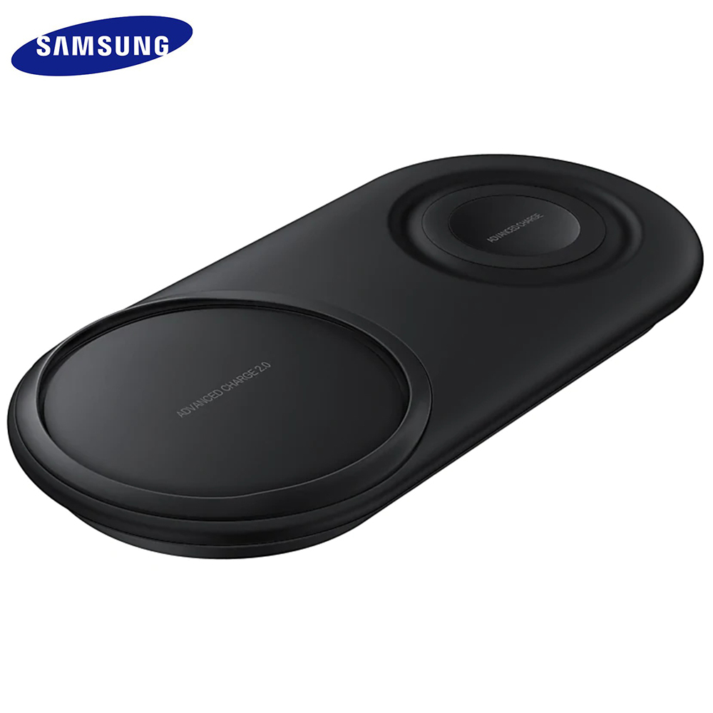 Duo Pad EP-P5200 25W QI Quick Wireless <font><b>Charger</b></font> Fast Charging Charge For Samsung <font><b>Galaxy</b></font> S7 S8 <font><b>S9</b></font> S10 e Plus Note 8 9 10 Gear S2 3 image
