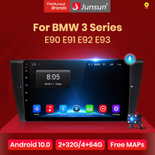 Junsun V1 Pro 2G 128G Android 10 Voor Bmw E90 E91 E92 E93 3 Serie Autoradio multimedia Video Player Navigatie Gps 2 Din Dvd