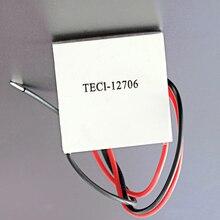 2 pçs/lote TEC1 12706 12v 60w termoelétrico cooler peltier para dispensador de água equipamentos de refrigeração módulo elemento peltier
