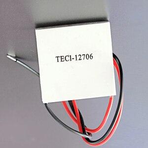 Image 1 - 2 pçs/lote TEC1 12706 12v 60w termoelétrico cooler peltier para dispensador de água equipamentos de refrigeração módulo elemento peltier