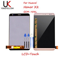 For Huawei Honor X2 MediaPad X2 GEM 703L LCD Display+Touch Screen Digitizer Assembly